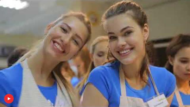 Embedded thumbnail for Мисс Иркутска 2017 на мастер-классе в Анетти.
